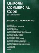 9780314622952-0314622950-Uniform Commercial Code, 2014-2015 ed.