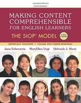 9780134045238-0134045238-Making Content Comprehensible for English Learners: The SIOP Model (SIOP Series)