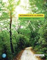9780134895987-0134895983-Intermediate Algebra (13th Edition)