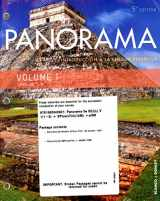 9781680043921-1680043927-Panorama 5th Ed Looseleaf Vol 1 (Chp 1-8) w/ Supersite Plus (vTxt)(12mos) and WebSAM