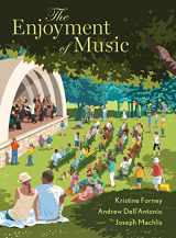 9780393624298-0393624293-The Enjoyment of Music W/ access card present unused Kristine Forney,Andrew Dell'Antonio,Joseph Machlis [Jan 01, 2017]