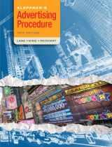 9780136110828-0136110827-Kleppner's Advertising Procedure (18th Edition)