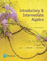 9780134493756-0134493753-Introductory & Intermediate Algebra (6th Edition)