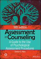 9781556203183-1556203187-Assessment in Counseling: A Guide to the Use of Psychological Assessment Procedures
