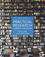 9780134802763-0134802764-Practical Research: Planning and Design plus MyLab Education with Pearson eText -- Access Card Package (12th Edition) (What's New in Ed Psych / Tests & Measurements)