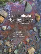 9781478632795-1478632798-Contaminant Hydrogeology, Third Edition
