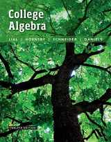 9780134307015-0134307011-College Algebra plus MyLab Math with Pearson eText -- 24-Month Access Card Package (12th Edition)