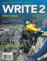 9780618642861-0618642862-WRITE2 (with CourseMate Printed Access Card) (Basic Writing)