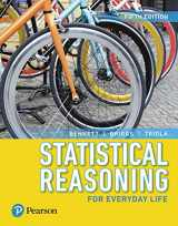 9780134701363-0134701364-Statistical Reasoning for Everyday Life Plus MyLab Statistics with Pearson eText -- 24 Month Access Card Package (5th Edition) (Bennett Science & Math Titles)