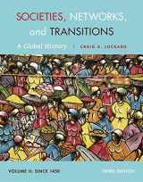 9781285733852-1285733851-Societies, Networks, and Transitions, Volume II: Since 1450: A Global History