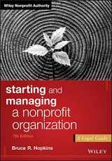9781119380191-1119380197-Starting and Managing a Nonprofit Organization: A Legal Guide (Wiley Nonprofit Authority)