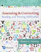 9780134515489-013451548X-Assessing and Correcting Reading and Writing Difficulties, with Enhanced Pearson eText -- Access Card Package (6th Edition)
