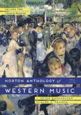 9780393921625-039392162X-The Norton Anthology of Western Music (Seventh Edition) (Vol. Volume 2)