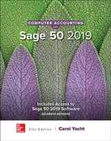 9781259917011-1259917010-Computer Accounting with Sage 50 2019