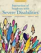 9780134043388-0134043383-Instruction of Students with Severe Disabilities, Pearson eText with Loose-Leaf Version -- Access Card Package (8th Edition)