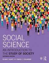 9781138654266-1138654264-Social Science: An Introduction to the Study of Society