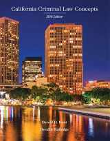 9781323416327-1323416323-California Criminal Law Concepts 2016 Edition (16th Edition)