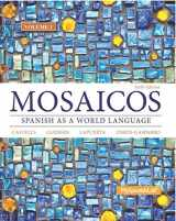 9780133844108-0133844102-Mosaicos, Volume 1 with MyLab Spanish with Pearson eText -- Access Card Package ( One-semester access) (6th Edition)
