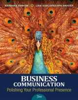 9780134088907-0134088905-Business Communication: Polishing Your Professional Presence Plus MyLab Business Communication with Pearson eText -- Access Card Package (3rd Edition)