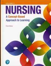 Sell back Nursing: A Concept-Based Approach to Learning, Volume II (3rd Edition) 9780134616810 / 0134616812