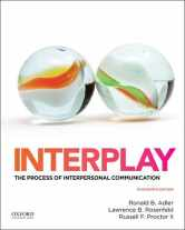 Sell back Interplay: The Process of Interpersonal Communication 9780199390489 / 0199390487