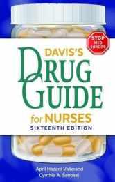 Sell back Davis's Drug Guide for Nurses 9780803669451 / 0803669453