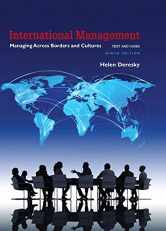 Sell back International Management: Managing Across Borders and Cultures, Text and Cases (9th Edition) 9780134376042 / 0134376048