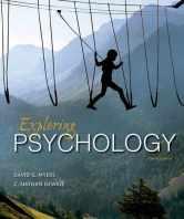 Sell back Exploring Psychology 9781464154072 / 1464154074