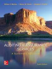 Sell back Auditing & Assurance Services: A Systematic Approach (Irwin Accounting) 9780077732509 / 0077732502
