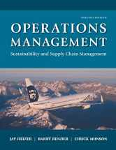 Sell back Operations Management: Sustainability and Supply Chain Management (12th Edition) 9780134130422 / 0134130421