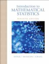 Sell back Introduction to Mathematical Statistics (7th Edition) 9780321795434 / 0321795431