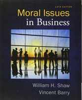 Sell back Moral Issues in Business 9781285874326 / 1285874323