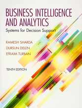 Sell back Business Intelligence and Analytics: Systems for Decision Support (10th Edition) 9780133050905 / 0133050904