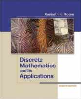 Sell back Discrete Mathematics and Its Applications Seventh Edition 9780073383095 / 0073383090