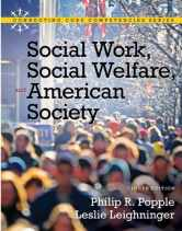 Sell back Social Work, Social Welfare and American Society (8th Edition) 9780205793839 / 0205793835