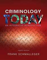 Sell back Criminology Today: An Integrative Introduction (8th Edition) 9780134146386 / 0134146387