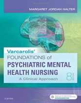 Sell back Varcarolis' Foundations of Psychiatric-Mental Health Nursing: A Clinical Approach 9780323389679 / 0323389678