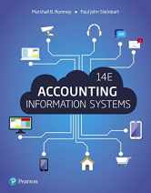 Sell back Accounting Information Systems (14th Edition) 9780134474021 / 0134474023