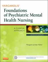 Sell back Varcarolis' Foundations of Psychiatric Mental Health Nursing: A Clinical Approach, 7e 9781455753581 / 1455753580