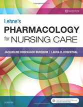 Sell back Lehne's Pharmacology for Nursing Care 9780323512275 / 0323512275