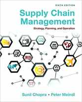 Sell back Supply Chain Management: Strategy, Planning, and Operation (6th Edition) 9780133800203 / 0133800202