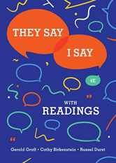 Sell back They Say / I Say: The Moves That Matter in Academic Writing with Readings (Fourth Edition) 9780393631685 / 0393631680