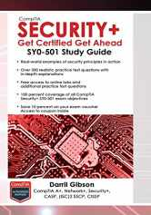 Sell back CompTIA Security+ Get Certified Get Ahead: SY0-501 Study Guide 9781939136053 / 1939136059