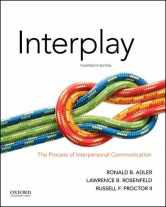 Sell back Interplay: The Process of Interpersonal Communication 9780190646257 / 019064625X