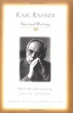 Karl Rahner: Spiritual Writings (Modern Spiritual Masters Series)