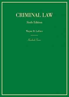 Criminal Law (Hornbooks)