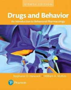 Drugs and Behavior: An Introduction to Behavioral Pharmacology, Books a la Carte