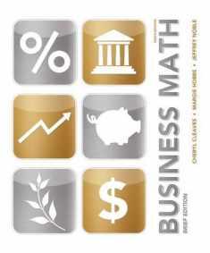 Business Math Brief (MyMathLab)