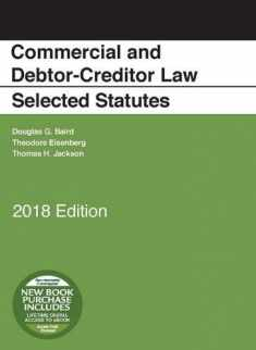 Commercial and Debtor-Creditor Law Selected Statutes, 2018 Edition