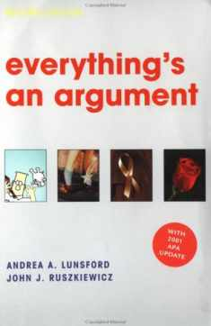 Everything's an Argument: With 2001 APA Update